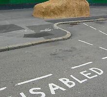 Disabled Parking by FreemantleFoto