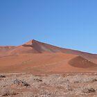 Namib desert dunes by benstrong