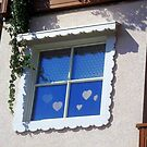 Hearted Sweety Window by sstarlightss