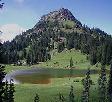 Yakima Peak by Krackle
