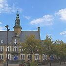 Oostduinkerke - Townhall - Belgium by Gilberte