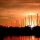 Sunset in Olympia by The Jonathan Sloat