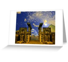 The Pharaoh's Portal Greeting Card