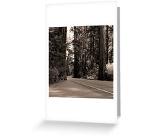 Parked Car Greeting Card
