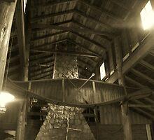 Log Lodge by Mark Odland