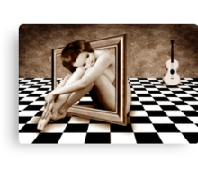 DOLLFRAME Canvas Print