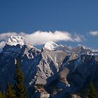Cascade range, Banff National Park, Canadian Rockies by benstrong