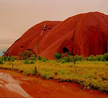 *Uluru Late Afternoon Apres Storm* by Ronald Rockman