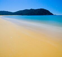 Totaranui Beach, Abel Tasman National Park, New Zealand by Paul Mercer