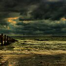 A Groyne In HDR by jakeof