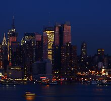 New York City Night by photoloi
