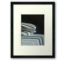 The Hospital Bed Sheets.  Framed Print