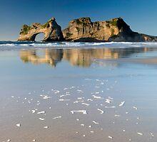 Wharariki Beach 7 by Paul Mercer