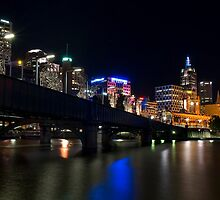 Southbank By Night by Derek Kan