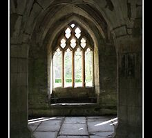 Valle Crucis Abbey - Llangollen, Wales by Emma Wright