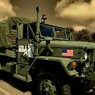 1968 Kaiser M44A2 2 and 1/2 Ton 6 X 6 Military Truck by TeeMack