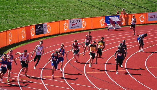 4x100m Hand Off  by Craig B