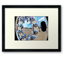 chrome,, and more chrome Framed Print