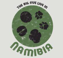 Namibian Tracks Tee by Gudrun Eckleben