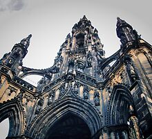 Scotts Monument Edinburgh .... Scotland  by MARTINH
