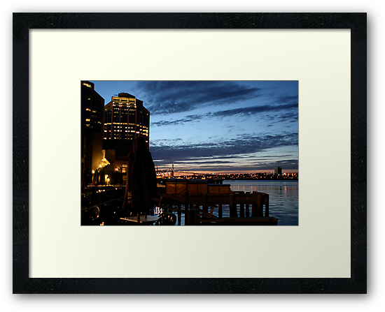 Halifax Harbour Evening by Wolf Read