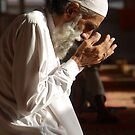 Man In Prayers by fahadee