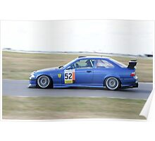 Matthew Hampson BMW e36 M3   Poster