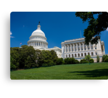 U.S. Capitol Building Canvas Print