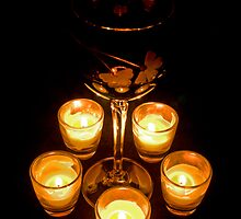 Candlight and Wine by Mike Oxley