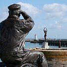 Le pêcheur et la nymphe (R) by Pascale Baud