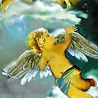 Two angels in heaven by Anne Weirich