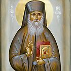 St Nektarios of Aigina by ikonographics