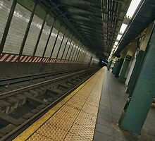 nyc subway station by upthebanner