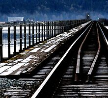 The Old Railroad Trestle by DThiessen