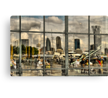 Down By The Hudson Canvas Print