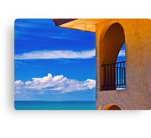 Window to paradise  Canvas Print