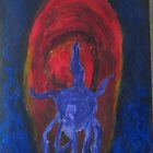 Untitled or Octopus riding Comet or Can You See them? by Ashley Huston