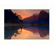 Milford Sound, Fiordland National Park Art Print