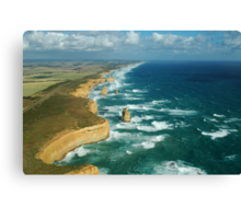 The Apostles From Above Canvas Print
