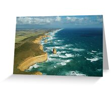 The Apostles From Above Greeting Card