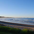 Woolgoolga Beach by splitsie