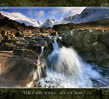 Wild Scotland Calendar 2010 : The Fairy Pools, Isle of Skye by Angie Latham