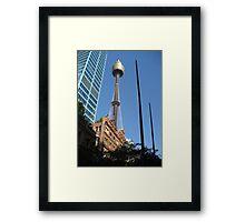Sydney Tower, Sydney, Australia Framed Print