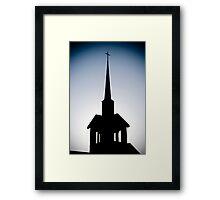 Shadow of the Church Framed Print