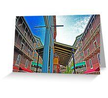 "Eureka Reflections ""Basin Park Hotel"" Greeting Card"