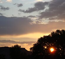 Northern New Mexico Sunset #2 by Brian Tafoya