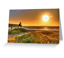 Montana del Oro campgrounds in CA Greeting Card
