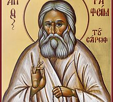 St Seraphim of Sarov by ikonographics