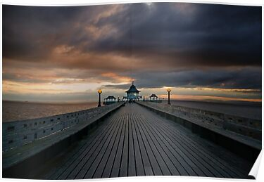 Sunset Pier by Nigel Bangert