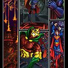 JLA Get Away Scott Free by ARTofMistyrE